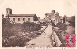 Lourmarin (84) - Le Temple Et Le Château - Lourmarin