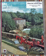 75 PARIS 19e CIMA WALLUT  Informations Agricoles IH  MAC CORMICK - Advertising
