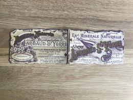 Gravure/Chromo Calendrier 1899 – Eau Minérale Larbaud St. Yorre, Vichy - Formato Piccolo : ...-1900