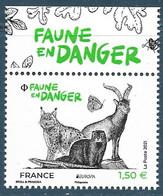 Faune En Danger BDF (2021) Neuf** - Ongebruikt