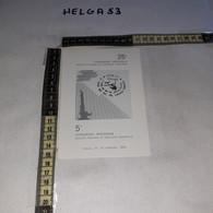 FB9243 CATANIA 1989 TIMBRO ANNULLO 5'' CONGRESSO NAZIONALE UROLOGIA PEDIATICA 25'' CONGRE. NAZ. CHIRUGIA PEDIATRICA - 1981-90: Storia Postale