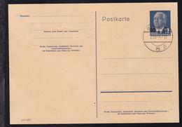 Wilhelm Pieck 10 Auf 12 Pfg. Mit Blankostempel - Unclassified