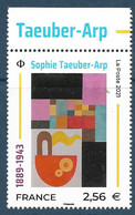Sophie Taeuber-Arp BDF (2021) Neuf** - Unused Stamps