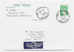 ENTIER 1FR SABINE CP 98 DZAOUZI 30.12.1978 MAYOTTE - 1977-81 Sabine Of Gandon