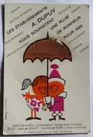 CPSM Carte Baromètre Parapluie Change De Couleurs Les établissements A. Dupuy Toulouse 10 Rue Lafon Mofrey La Créathèque - A Systèmes