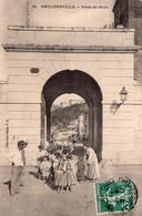 7052 Cpa Algérie - Philippeville - Porte De Stora - Altre Città