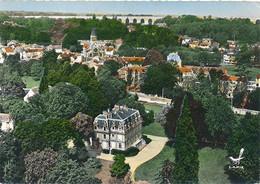 LOUVECIENNES - N° 10 - EN AVION AU-DESSUS DE ..VUE PANORAMIQUE (C P M) - Louveciennes