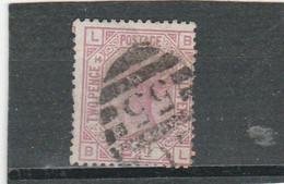 "GB 1879: 2 1/2 D Rosy Mauve, Wmk. ""orb"", Pl. 14 Used; S.G. Special J 15 Pl. 14        O - Usati"