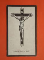 Benoit Alleweireld Geboren Te Wytschaete ( Wijtschate ) 1876 Overleden Te Wervik 1940  (2scans) - Godsdienst & Esoterisme