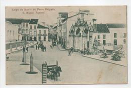 - CPA ACORES (Portugal) - Largo Da Matriz De Ponta Delgada, S. Miguel 1905 (belle Animation) - - Açores