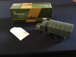 Les Miniatures Solido Militaires Berliet GBC KT - Altri