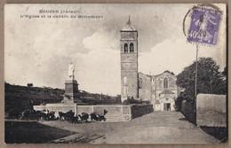 CPA 34 - ROUJAN - L'Eglise Et Le Jardin Du Monument - TB PLAN Place + Troupeau De Chèvres - Other Municipalities