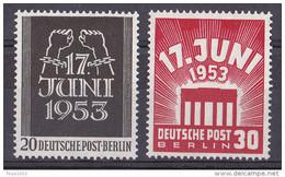 Berlin 1953 - Mi.Nr. 110 - 111 - Postfrisch MNH - Ongebruikt