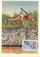 Soviet Maxicard 1964 Tokyo Olympic Games (G123-79) - Summer 1964: Tokyo