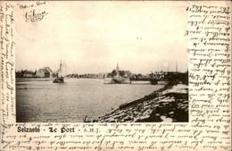 België - Selzaete Zelzate - Le Port Haven - 1902 - Unclassified