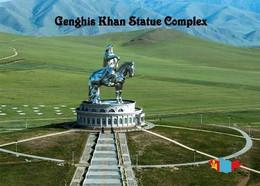 Mongolia Genghis Khan Statue Complex New Postcard Mongolei AK - Mongolië