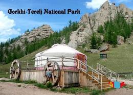 Mongolia Gorkhi-Terelj National Park New Postcard Mongolei AK - Mongolië