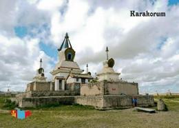Mongolia Karakorum Golden Stupa UNESCO New Postcard Mongolei AK - Mongolia