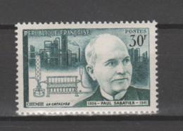 """FRANCE / 1956 / Y&T N° 1058 ** : """"Savants & Inventeurs"""" (Paul Sabatier) X 1 - Unused Stamps"""