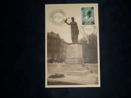 """BELG.1938 458 : """"  Prinses J-Charlotte Op Herdenkingskaart """" - Souvenir Cards"""