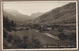 CPA 05 - NEVACHE - Briançonnais - La Clairée - Très Jolie Vue Générale Du Village Dans La Vallée + Photographie ODDOUX - Otros Municipios