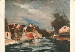 CPSM MAURICE DE VLAMINCK - Chartres - Musée National D'Art Moderne à Paris   L659 - Paintings