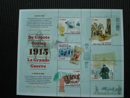 Postzegelblok++de Groote Oorlog 1915++postfris++ - Unused Stamps