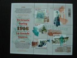 Postzegelblok++de Groote Oorlog 1916++postfris++ - Unused Stamps