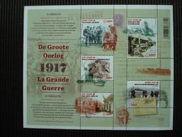 Postzegelblok++de Groote Oorlog 1917+postfris++ - Unused Stamps