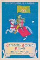 NAPOLI / CAROSELLO STORICO - MAGGIO 1937 - Napoli (Naples)
