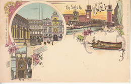 ITALIA - VENEZIA - GRUSS Di Carl Kunzli, (perfetta) Animata,1900 Circa - M-2021-384 - Venezia (Venedig)
