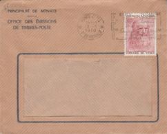 MONACO SEUL SUR LETTRE POUR LA FRANCE 1970 - Covers & Documents