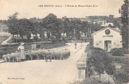 CPA 10 LES RICEYS L'ENTREE DE RICEYS HAUTE RIVE - Les Riceys