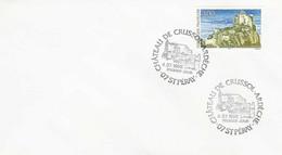 3169  Premier Jour  Château De Crussol  Saint Peray  07  Ardèche  4 Juillet 1998 - 1990-1999