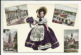 TOULOUSE , La Ville Rose , Notre Toulousaine , Poupée D'HORPHIN , Le Capitole , Courbe De La Garonne , Etc... , 1959 - Toulouse