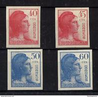 ESPAÑA **751s/4s Nuevo Sin Charnela. Cat.68 € - 1931-50 Ungebraucht