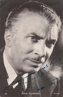 Artistes - Comédie Française Théâtre - Aimé Clariond - Dédicace 1944 - Artisti