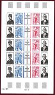 ⭐ France - Non Dentelé - YT N° 1695 A ** - Neuf Sans Charnière - RARE Complète -1971 ⭐ - Imperforates