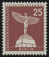 147xw Glatt Stadtbilder Lilienthal-Denkmal 25 Pf ** - Unclassified