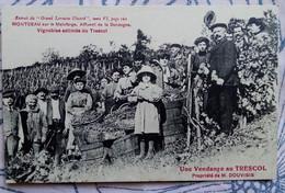 Montceau Sur La Malefarge. Vignobles Estimés Du Trescol . Propriété De Mr Douvisis - Autres Communes