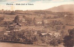 CHEXBRES (VD) Hotels Cecil Et Victoria Seal Edit D'Art. A.E. Chapallaz Fils Laus - VD Vaud