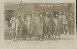 DE MILITAIRE / Gefangene 7.2 /5 1916 / CARTE PHOTO - Andere