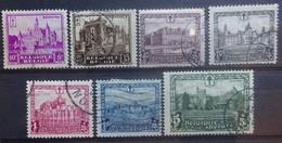 BELGIE  1930    Nr. 308 - 314    Gestempeld      CW 60,00 - Used Stamps