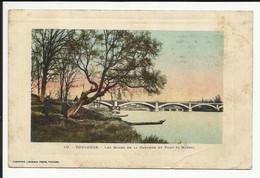 TOULOUSE , Les Bords De La Garonne Et Pont St-Michel , 1913 - Toulouse