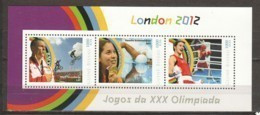 Guine Bissau - MNH Sheet 2 SUMMER OLYMPICS LONDON 2012 - Eté 2012: Londres