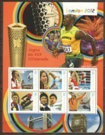 Guine Bissau - MNH Sheet 1 SUMMER OLYMPICS LONDON 2012 - Eté 2012: Londres