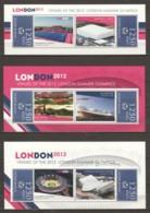 Guine Bissau - MNH Set Of 3 Sheets - SUMMER OLYMPICS LONDION 2012 - Eté 2012: Londres