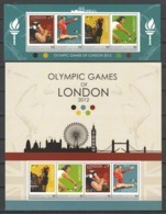 St Vincent Grenadines (Young Island) - MNH Set Of 2 Sheets SUMMER OLYMPICS LONDON 2012 - Eté 2012: Londres