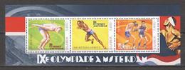 Uganda - MNH Sheet 2 SUMMER OLYMPICS AMSTERDAM 1928 - Summer 1928: Amsterdam