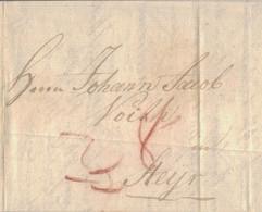 1793 Bresslau Fuhrmannsbrief Inhalt  N. Steyr - [1] Prefilatelia